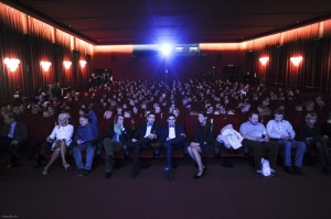 Salle comble pour l'ouverture du Festival lors de laquelle le film fut présenté © MiguelBueno